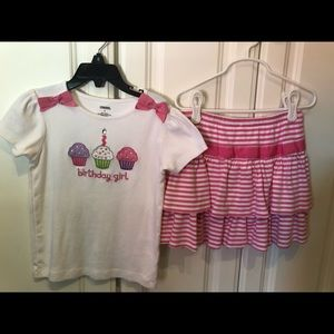 Gymboree outfit girls size 6